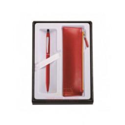 Набор: ручка шариковая + чехол CROSS \ AT0622-119/483